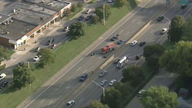 EB I-94 back open at Allard Avenue in Wayne County after motorcycle crash