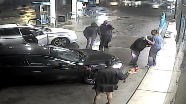 3 wanted in connection with carjacking at gas station on Plymouth in Detroit