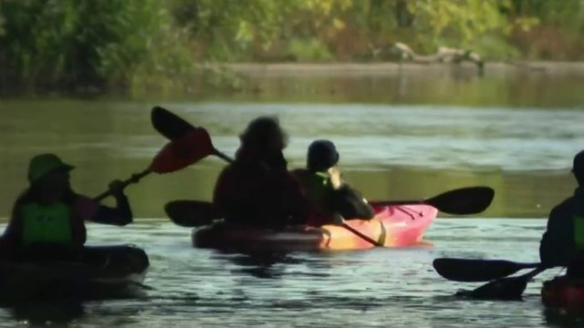 Lawmakers kayak Rouge River to mark cleanup progress since 1969 fire