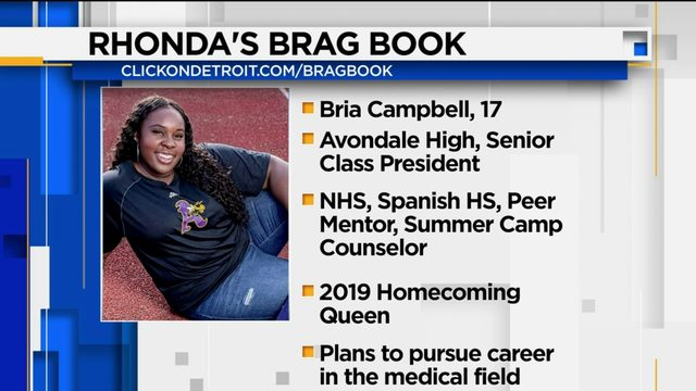 Rhonda's Brag Book: Bria Campbell