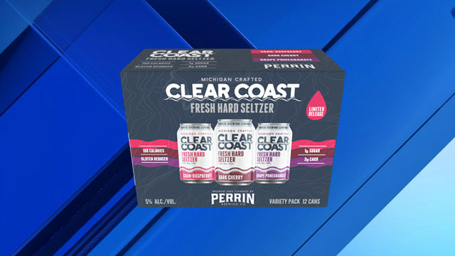 Michigan's Perrin Brewing Co. unveils fall-inspired Clear Coast hard seltzer