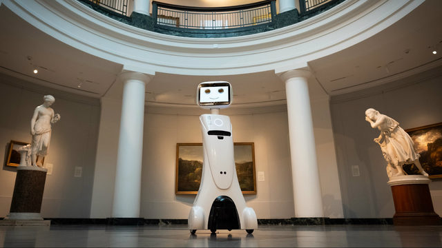 Don't be surprised if you're greeted by a robot soon at U-M's Museum of Art