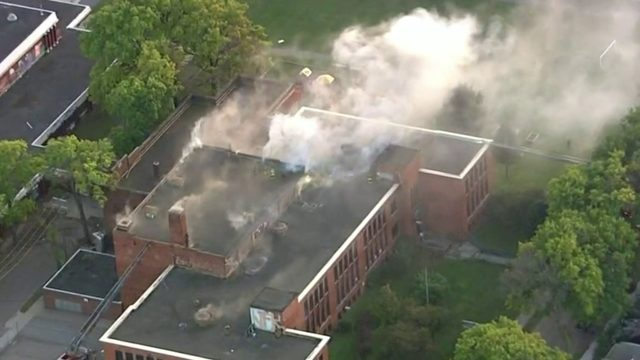 Cause of fire that injured firefighter at former Phoenix Academy in…