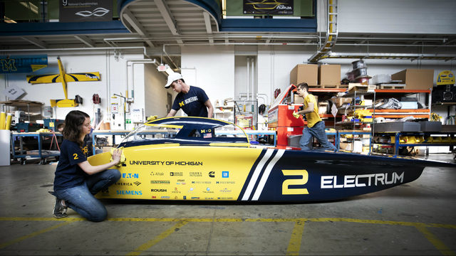University of Michigan's Solar Car team headed Down Under for world competition