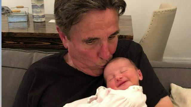 Bernie Smilovitz is a grandpa!