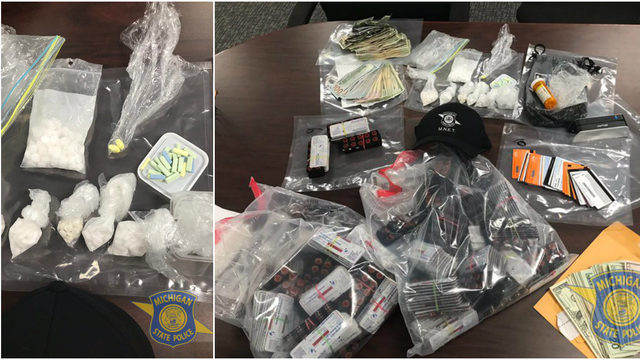 Dearborn man, 22, caught with 4,500 pills prepared for selling on…