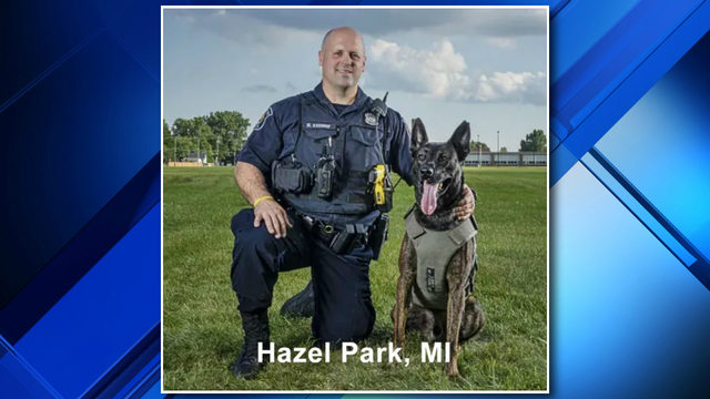 Hazel Park police K-9 needs help in contest to win new police cruiser