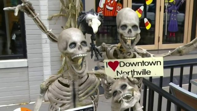 The city of Northville takes Halloween to the next level