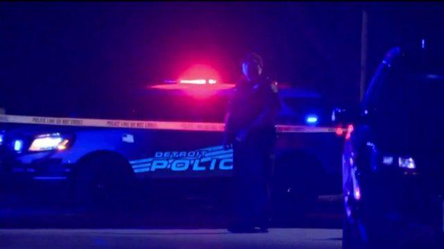2 men shot on Saratoga Street in Detroit