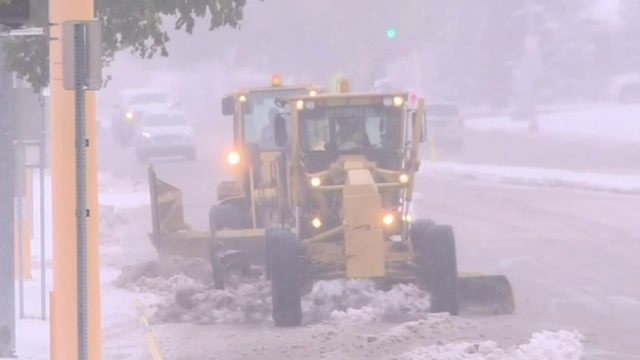 Video: Winter storm hits parts of Great Plains