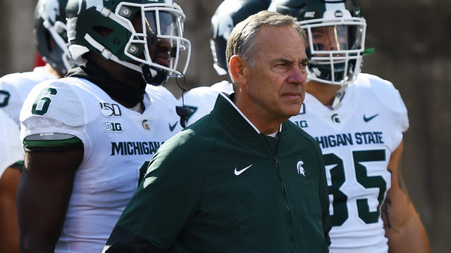 MONDAY HUDDLE: Is this beginning of end for Mark Dantonio?