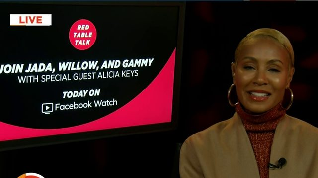 Jada Pinkett Smith gives inside scoop on Red Table Talk