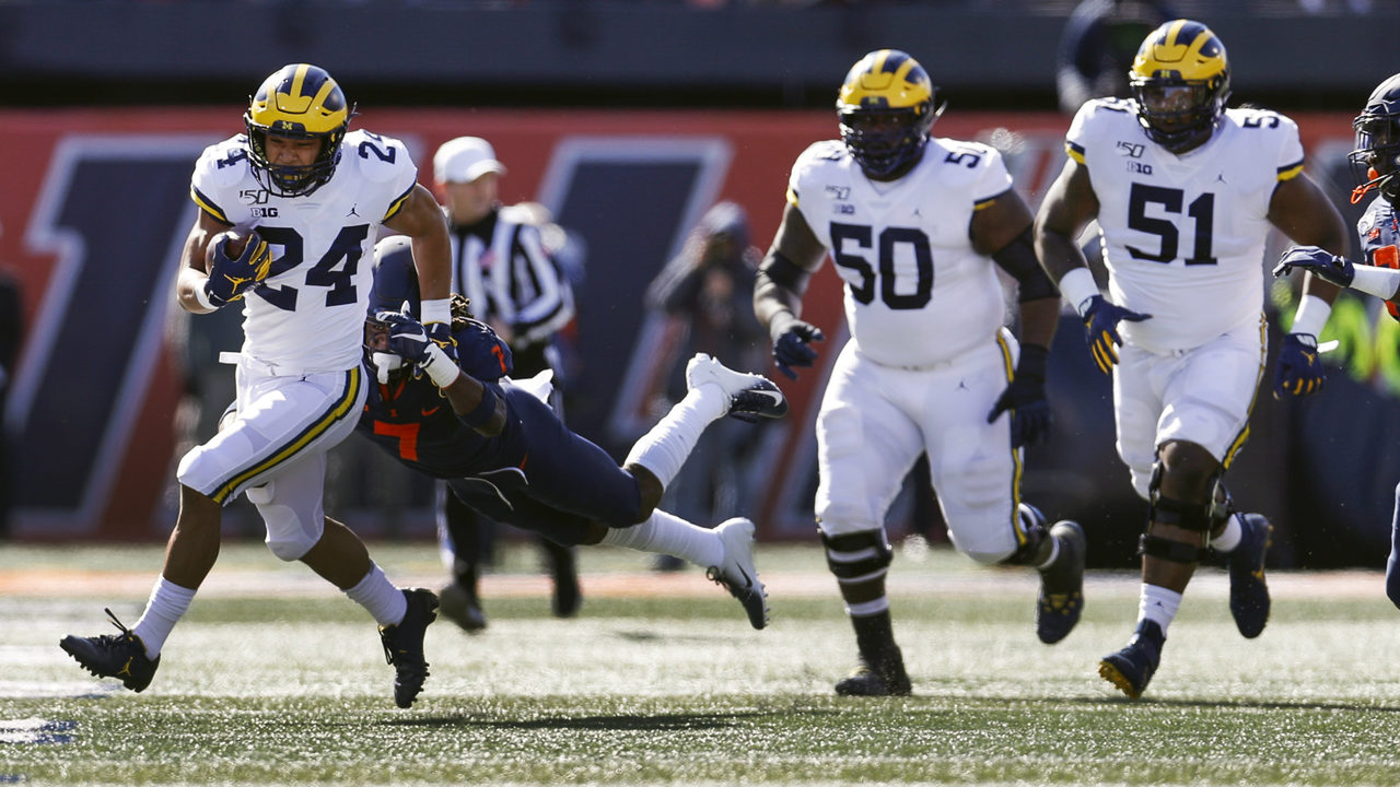 Michigan's offensive line is key to having any chance against Penn State