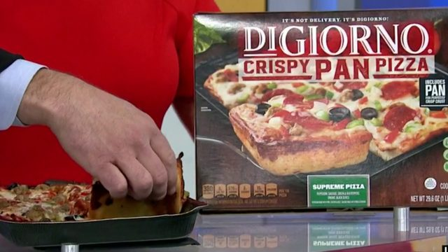Check out the frozen pizza that won over a food critic!