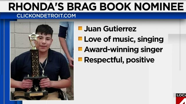 Rhonda's Brag Book: Juan Gutierrez