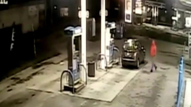 Detroit police release surveillance video of carjacking at gas station