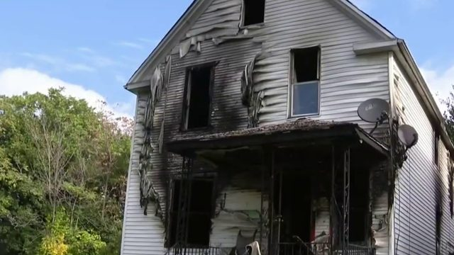 Masked men pistol-whip victim before setting Detroit house on fire, police say