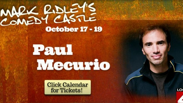 Need a good laugh? Check out Paul Mecurio