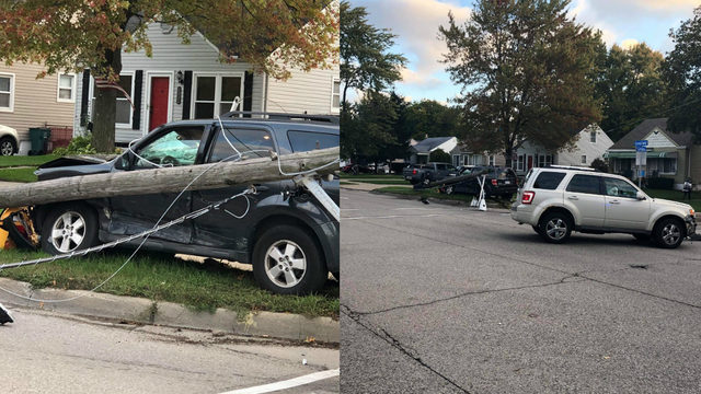 Greenfield and Catalpa in Berkley now open after crash takes down pole