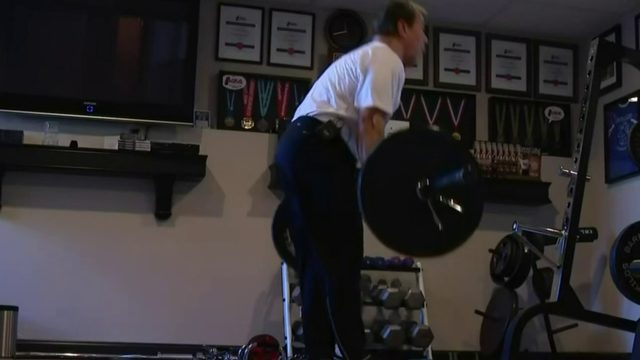76-year-old Plymouth powerlifter breaks 10 American, world records
