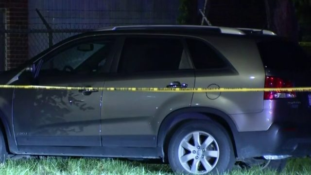 Man found shot to death in car near field on Detroit's east side