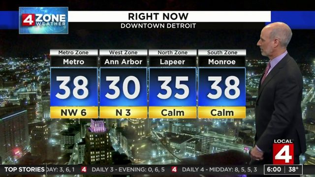 Metro Detroit weather forecast: Chilly Friday morning, afternoon sunshine ahead