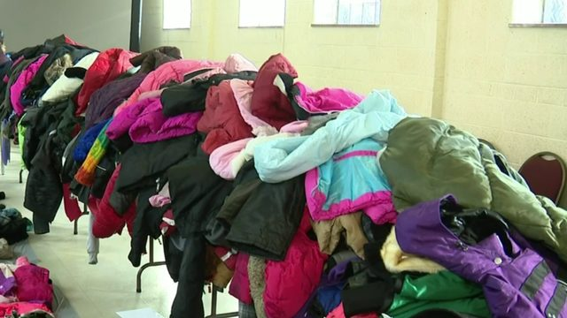 Coats and jackets given to those in need on Detroit's west side