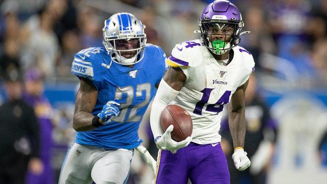 Cousins has 4 TD passes as Vikings surge past Lions 42-30
