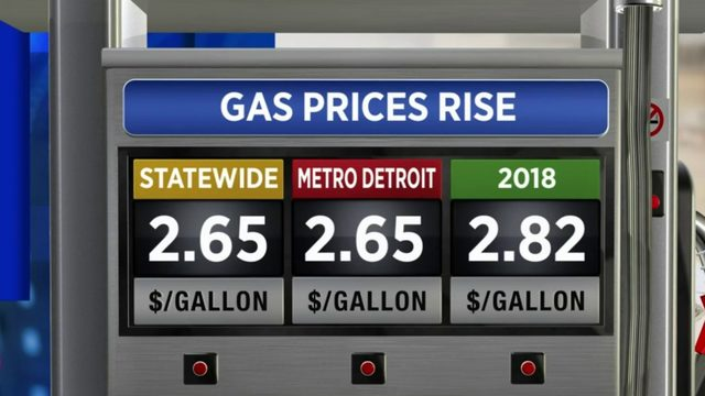 Average price of gas increases statewide