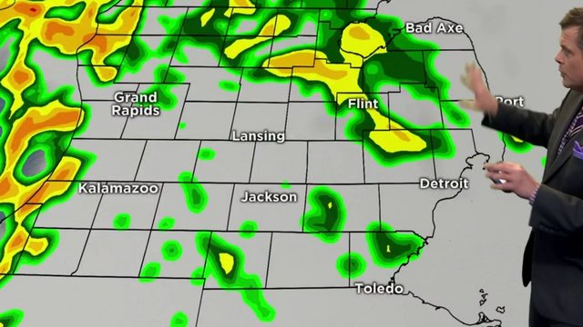 Metro Detroit weather: Here's when to expect rain today