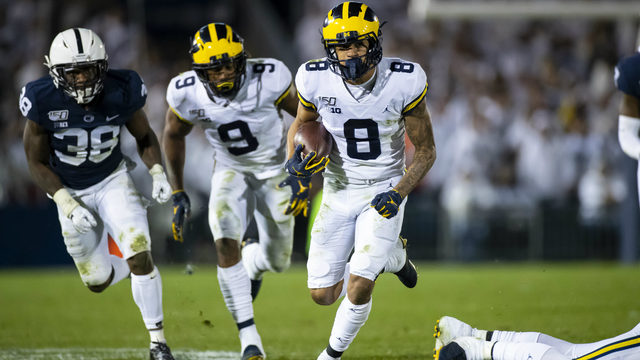 Michigan football shows progress at Penn State, but not in time to save season