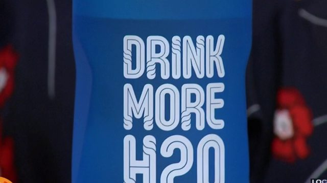 Does your water bottle do this?