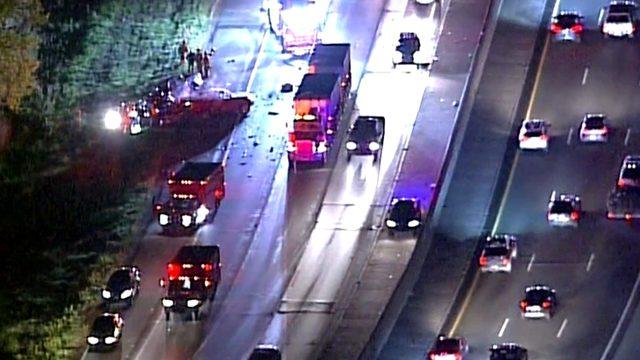 Eastbound I-94 closed at Little Mack after deadly crash