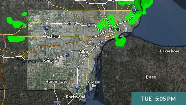 Michigan Weather Radar Clickondetroit Wdiv Local 4